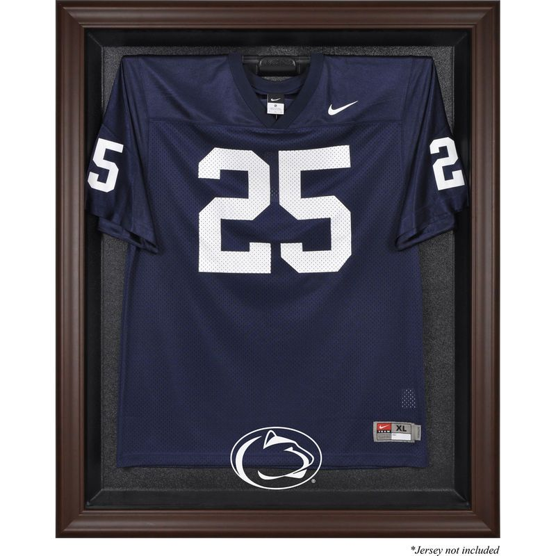 sports shoes 146ea 2a47c Penn State Nittany Lions Fanatics Authentic Brown Framed ...