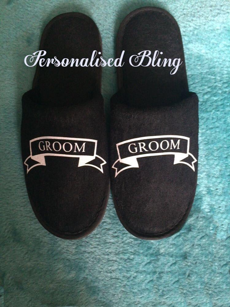 Groomsmen underwear , Groomsmen gift , Groomsmen socks , Groomsmen slippers , black boxers , black socks , black slippers , Groom