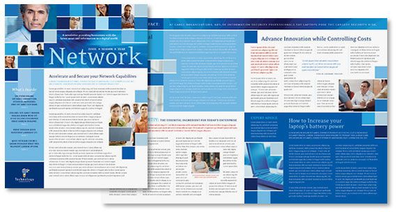 how to lay out a multiple page newsletter magazine booklet brochure or catalog design for print - Newsletter Design Ideas