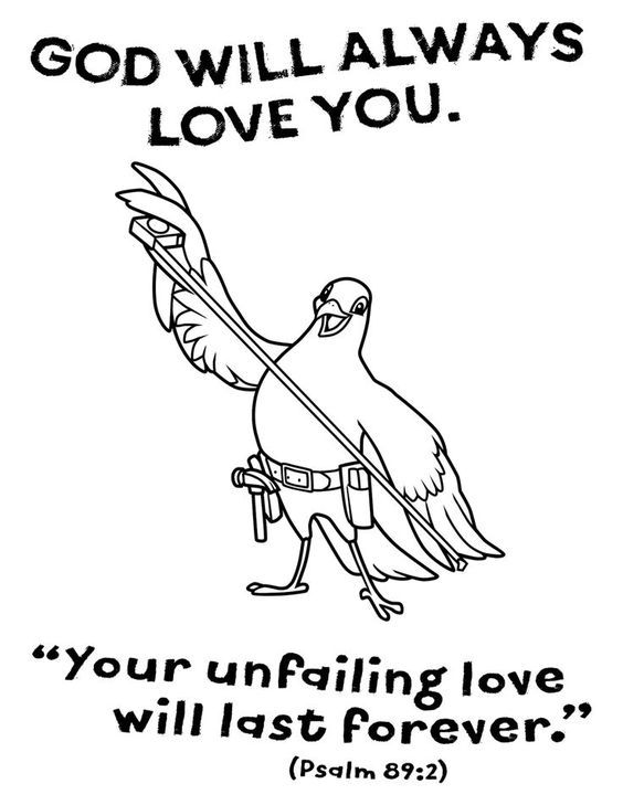 Image Result For God Will Always Love You Bird Color Sheet Maker Fun Factory Maker Fun Factory Vbs Maker Fun Factory Vbs 2017