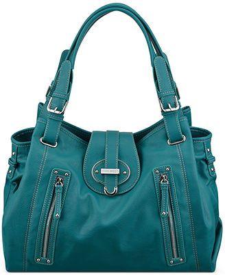 Nine West Handbag Zipster Medium Satchel