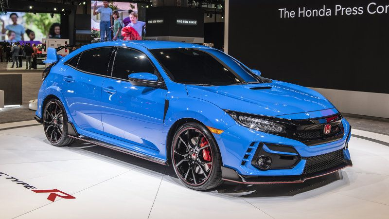 2020 Honda Civic Type R gets a performance upgrade Here