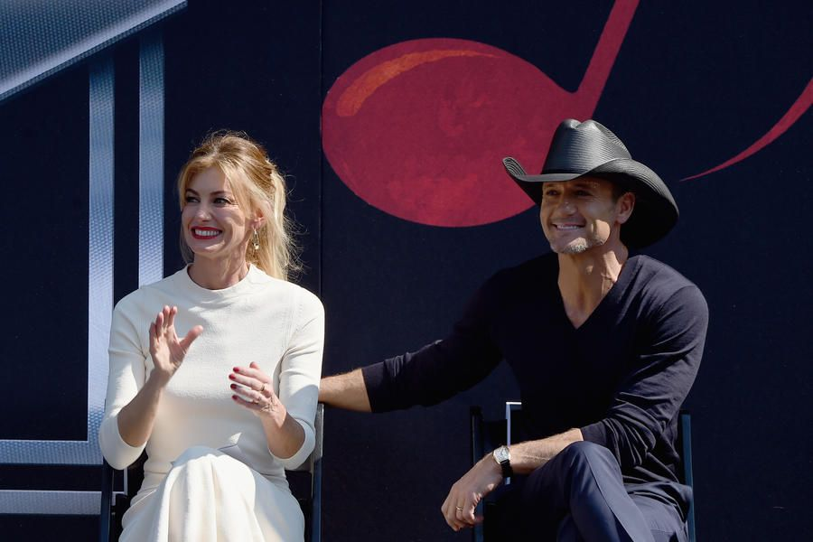 """Faith Hill and Tim McGraw - Best Southern Love Stories of All Time - Southernliving. Faith and Tim are two of the most respected names in country music, and their love story is just as strong. Twenty years after saying """"I do,"""" the two are still going strong, touring, and raising a family through the adventure of life in the spotlight."""