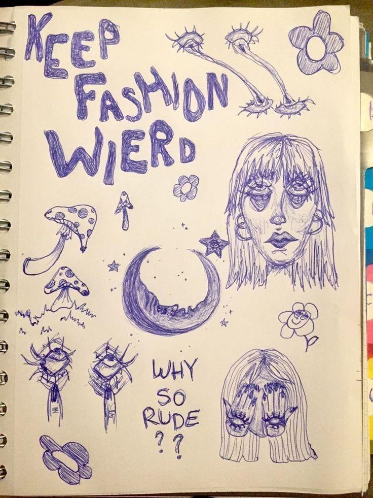 Keep fashion wierd 🍄✨❤️