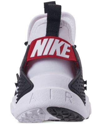 aace60d60c2c Nike Men s Air Huarache Run Drift Casual Sneakers from Finish Line - White  10.5