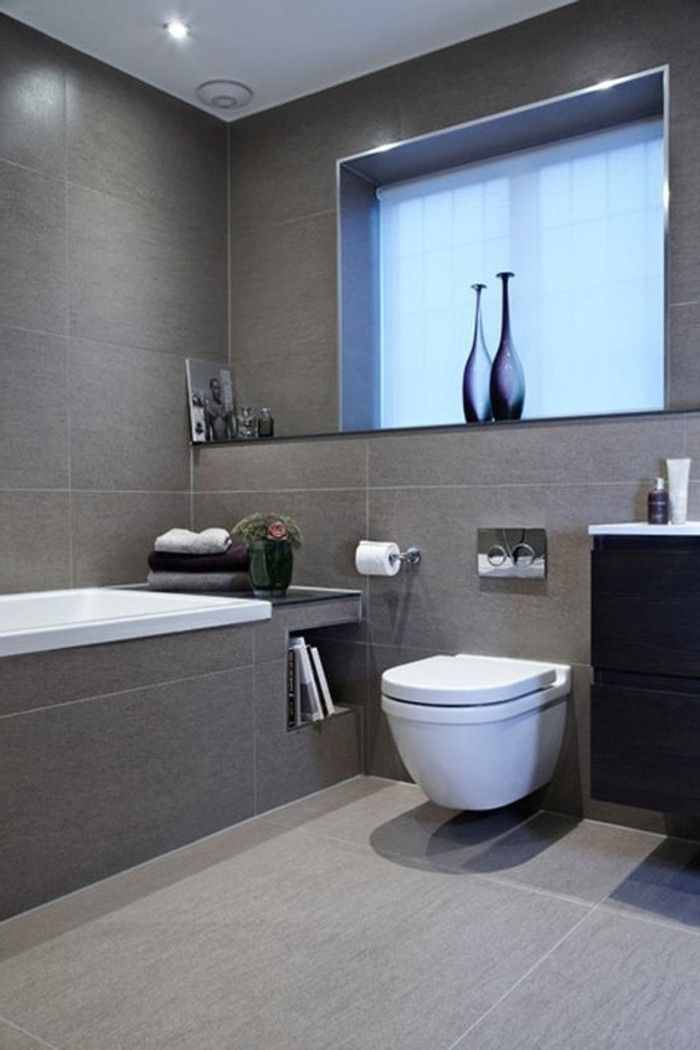 Elegante Grosse Graue Badezimmer Fliesen Small Bathroom Layout Bathroom Layout Grey Bathroom Tiles
