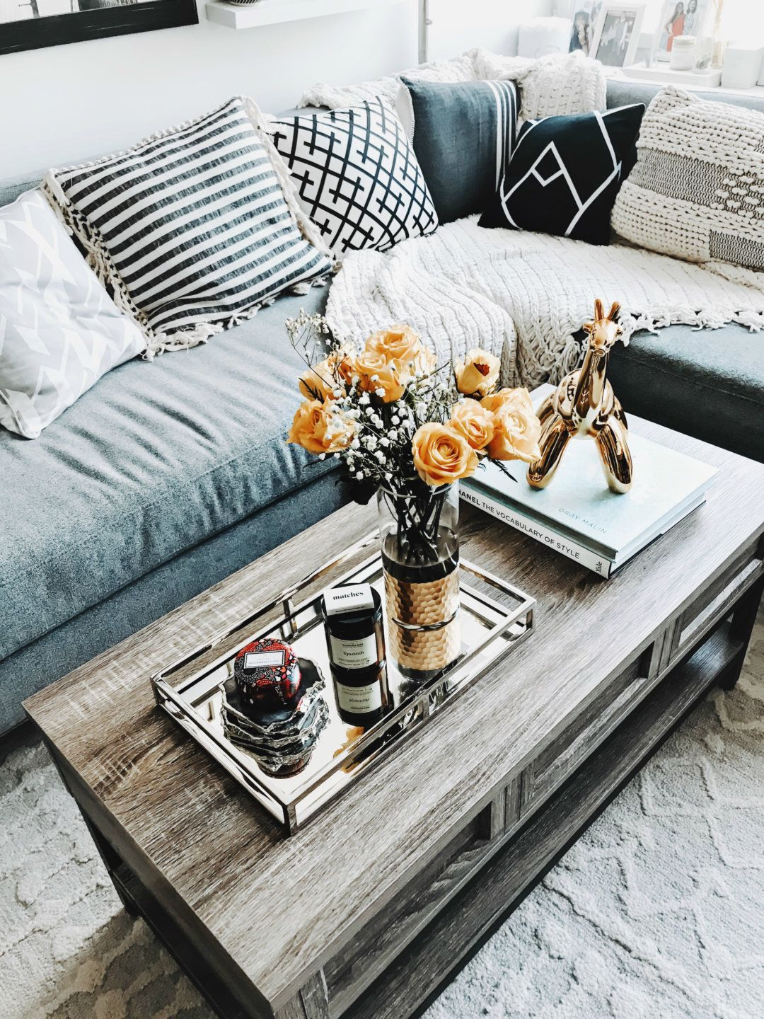 6 Steps To Creating An Instagram Worthy Coffee Table Display To Be Bright Coffee Table Display Coffee Table Table Display [ 1440 x 1080 Pixel ]