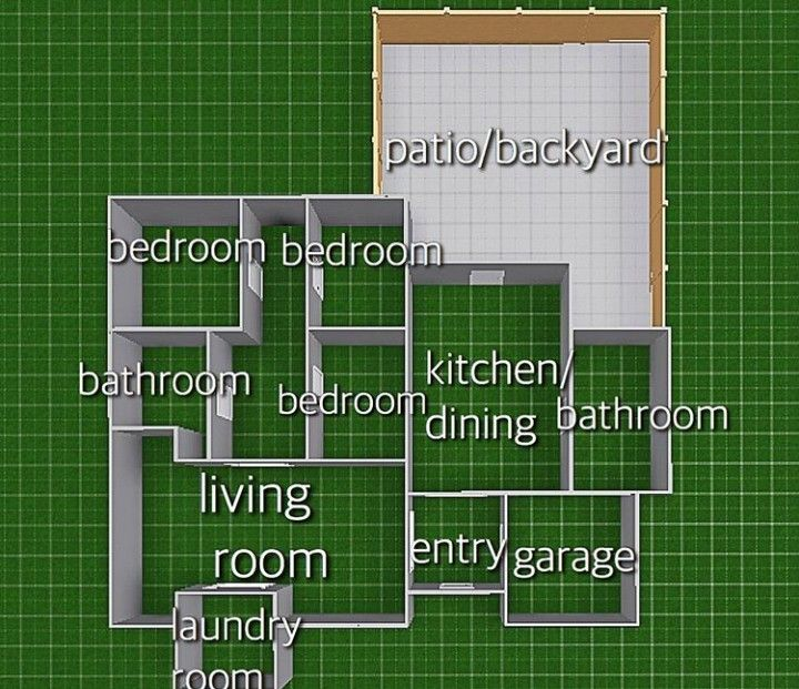 Pin By Mia Price On Bloxburg Builds And Tips In 2020 Sims 4 House Design Sims House Design Minecraft House Designs