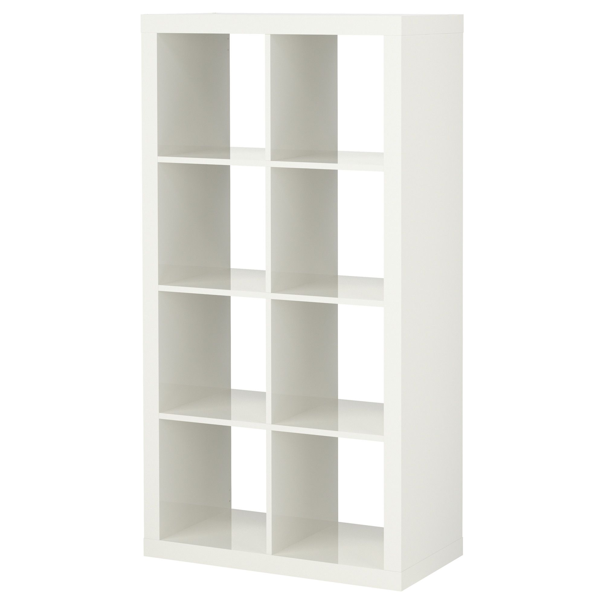 Expedit hylla h gglans vit ikea salon arriba pinterest sovrum f rvaring sovrum and - Kallax regal weiay ...