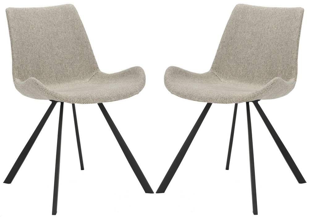 Safavieh Terra Midcentury Modern Accent Chairs Set Of 2 Domino