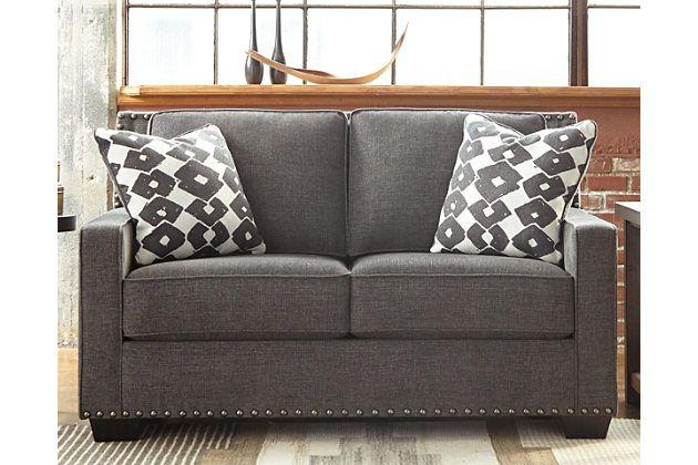 Alton Loveseat Russet Love Seat Furniture Rectangle Living Room