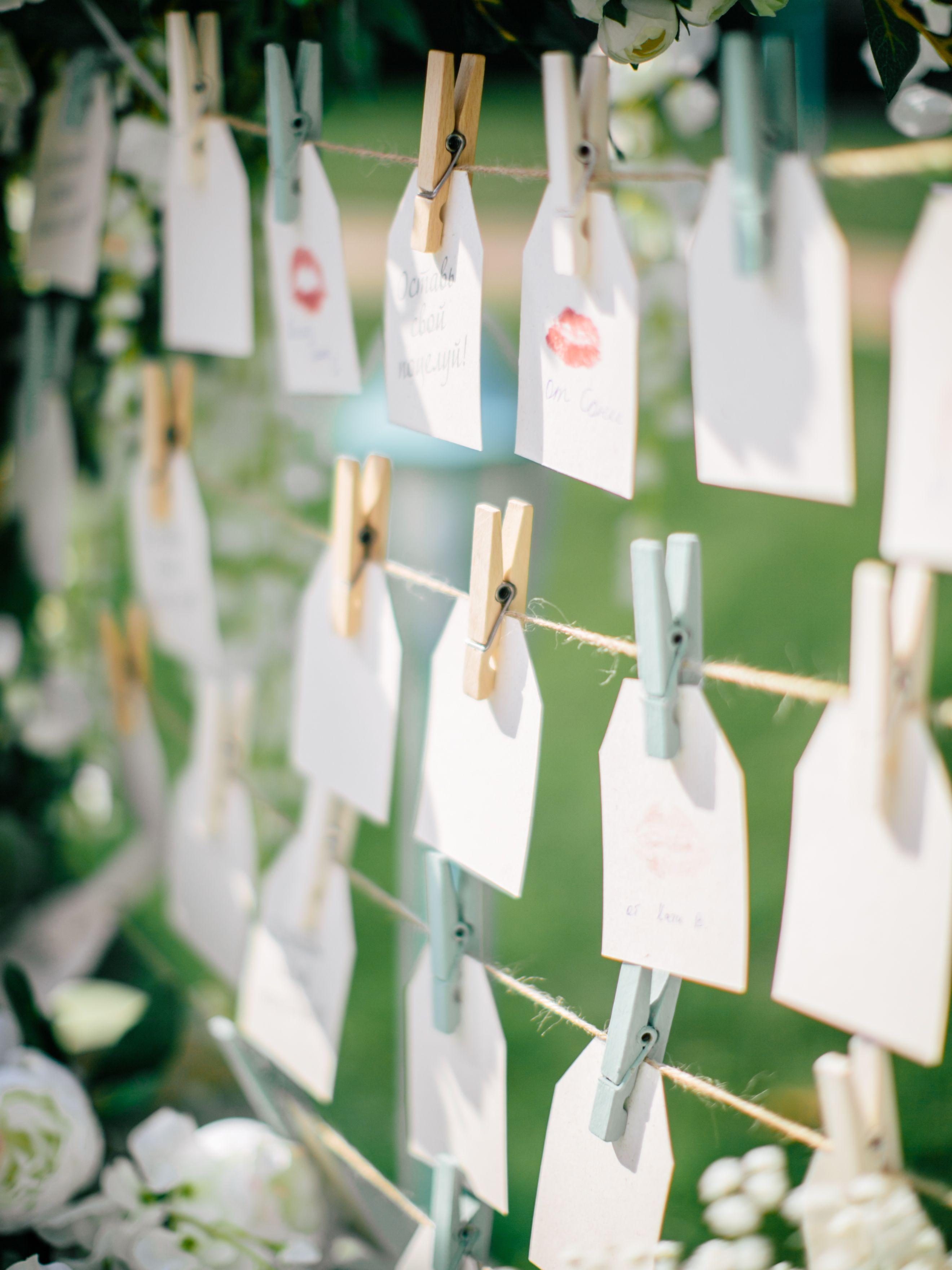 wedding, wedding decor, wedding detail, свадебные мелочи, оформление свадьбы, пожелания гостей, записки