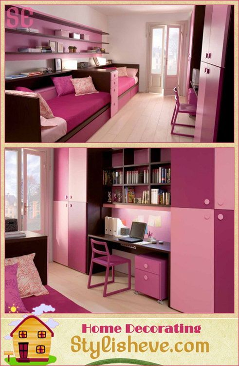 Modern Kids Bedroom Ideas For Small Space - very cool site but am I ...