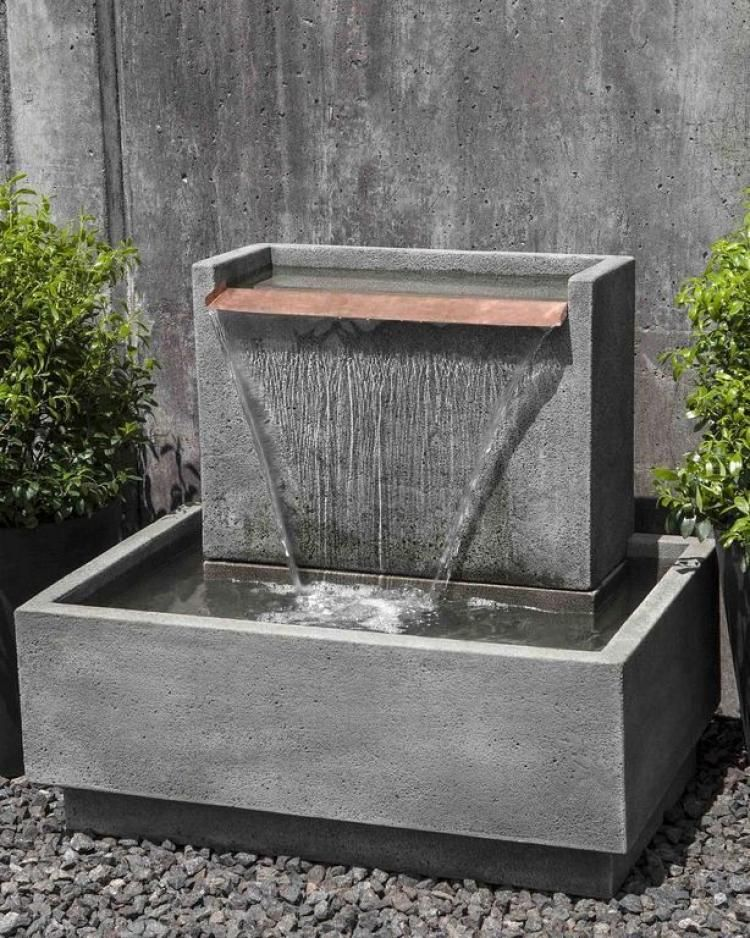 Admirable Diy Water Feature Ideas For Your Garden Water Fountains Outdoor Backyard Water Feature Diy Water Feature