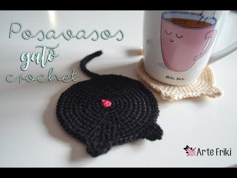 Amigurumi Gato Paso A Paso : Si quieres aprender como tejer a crochet éstos simpáticos posavasos