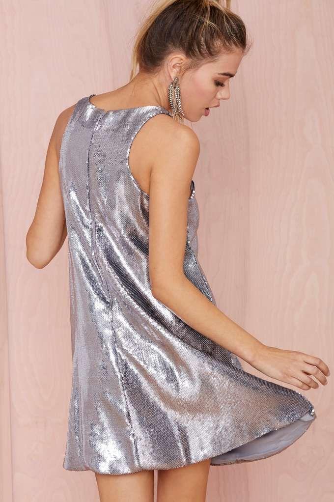 Glamorous Countdown Sequin Shift Dress