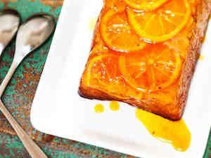 Keikahtanut appelsiinikakku