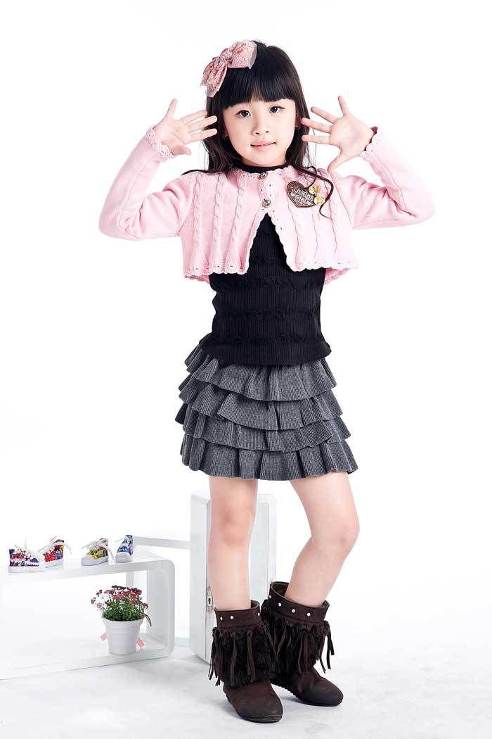 8af4160c4ff89 Aliexpress.com   Buy Girls Small Coat Sweaters Kids Cute Sweatshirts Short  Style Outerwear