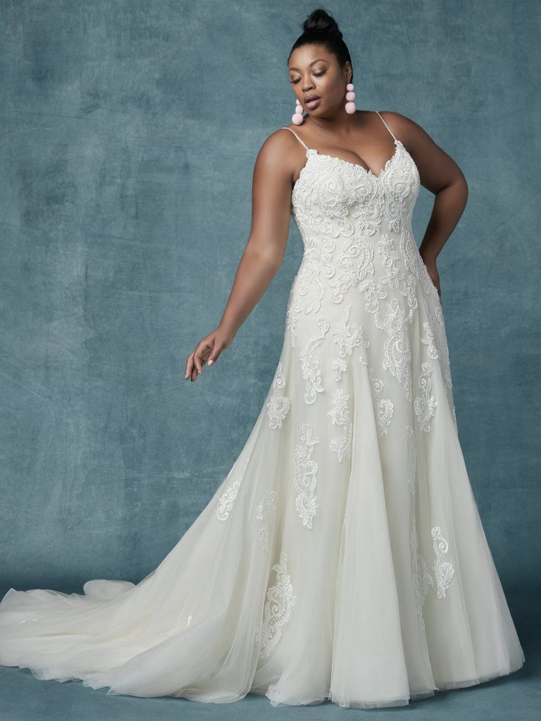 Maggie Sottero Wedding Dresses Plus Size Wedding Dresses