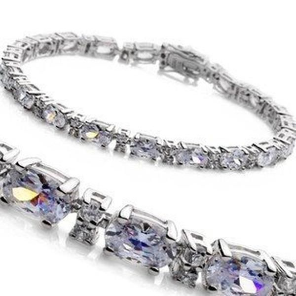 Bracelet Luxury 6 Carat Diamond Bracelet 10 Carat Diamond Tennis Bracelet 5 Carat Diamond Diamond Bracelet Womens Jewelry Bracelets Gold Necklace Designs
