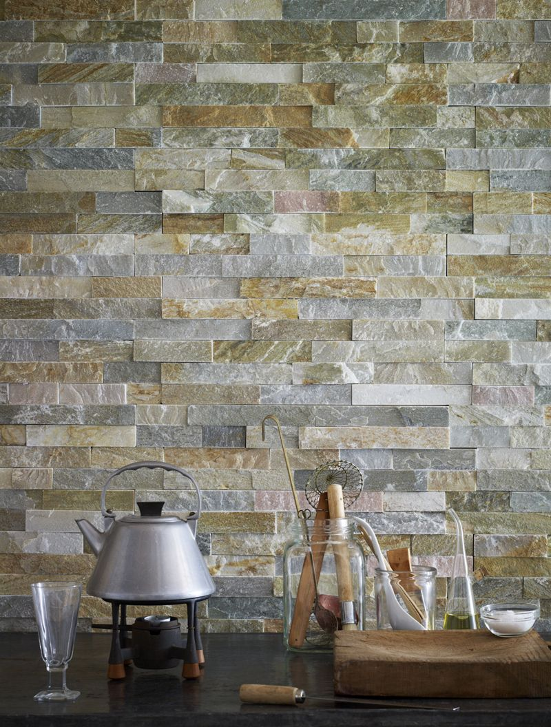 Oyster Schist Maxi Splitface Tiles Split Face Wall Tiles