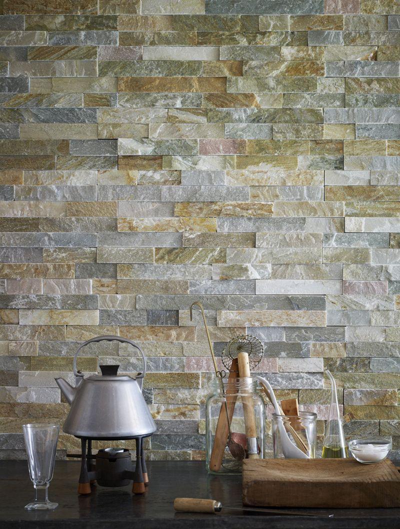Oyster Schist Maxi Splitface   Stone tile flooring, Stone ...