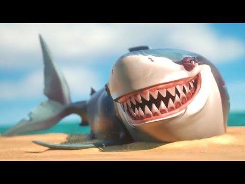 Hungry Shark Shorts - Human Week - YouTube