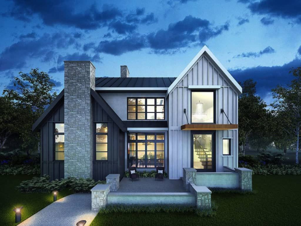 Stylish And Contemporary Home In Calgary With Inspiring Coastal Vibe In 2020 House Designs Exterior Modern House Exterior House Exterior