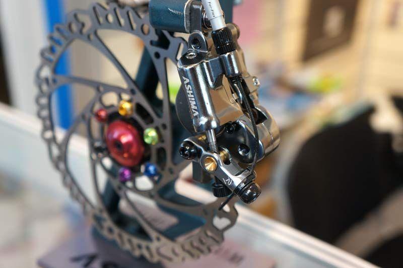 Ashima Pcd Power Cable Dual Mechanical To Hydraulic Disc Brake Caliper Brake Calipers Calipers Bike Components