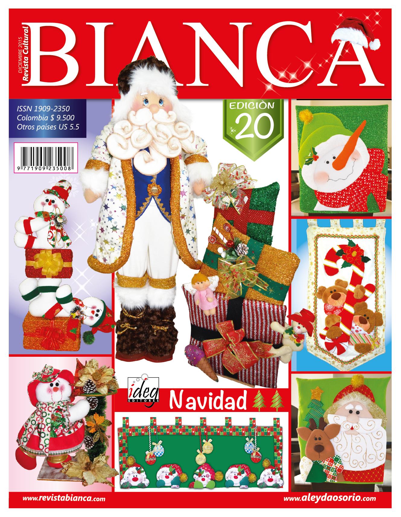 Aleyda osorio publicaciones y revistas ideas para el for Manualidades de navidad 2016