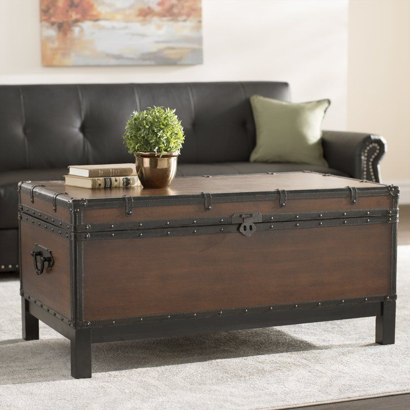 Glenway Trunk Coffee Table Trunk Coffee Table Wood Coffee Table