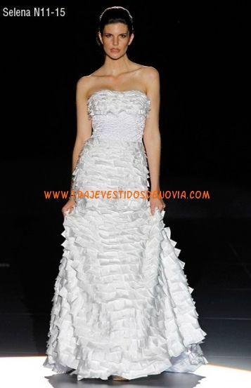 Selena gomez vestida de novia