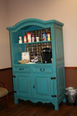 Vintage Armoire Display