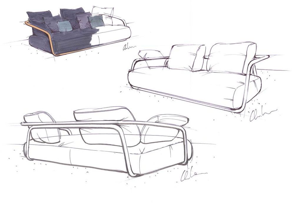 In Praise Of The Band Furniture Design Sketches Interior Sketch