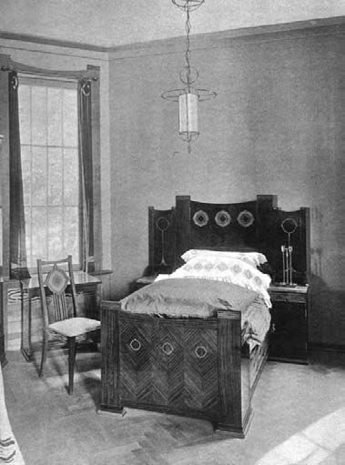 The daughter s bedroom in peter behrens s house in for Behrens house