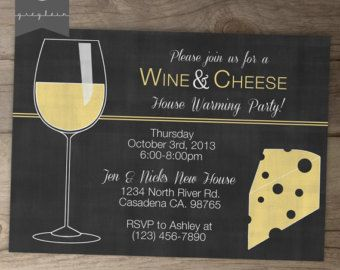 wine and cheese party invitations template - Google Search | Wine ...