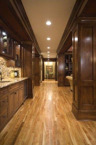 Dark Wood Clear Alder Kitchen Ideas Birch Floors