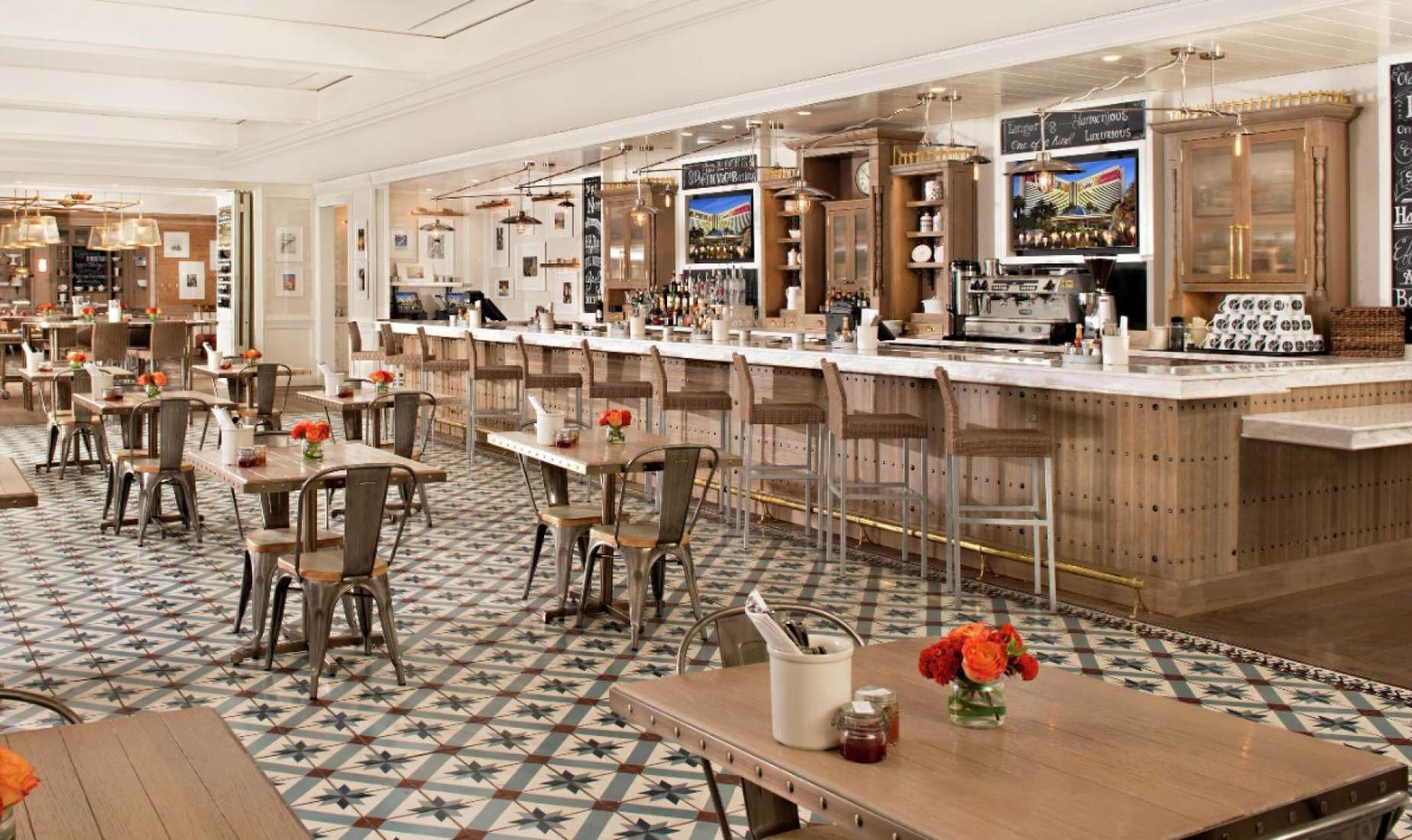 Mirage Restaurant Pantry Architectural Interior