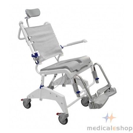 Aquatec Ocean VIP Tilt-In-Space Shower Commode Chair | 330 lbs ...