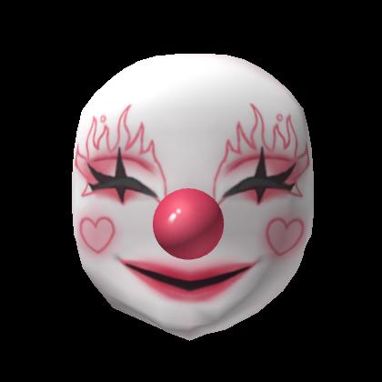 Personaliza Tu Avatar Con El Objeto Lovely Clown Mask Y Millones De Objetos Mas Mezcla Y Conjunta Este Objeto De L Clown Mask Black Hair Roblox Hoodie Roblox