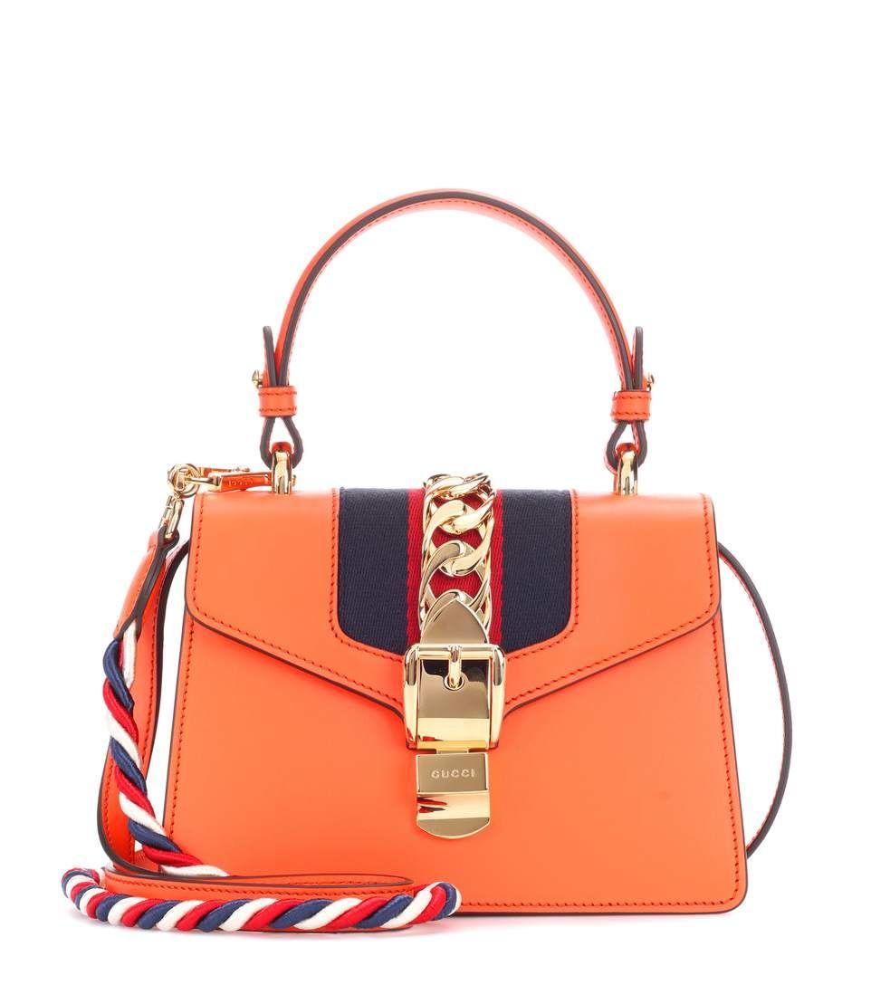 Gucci Sylvie Mini leather crossbody bag