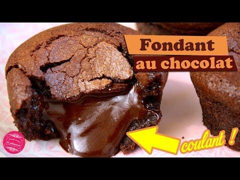 Fondant au chocolat ultra-coulant #dessertfacileetrapide