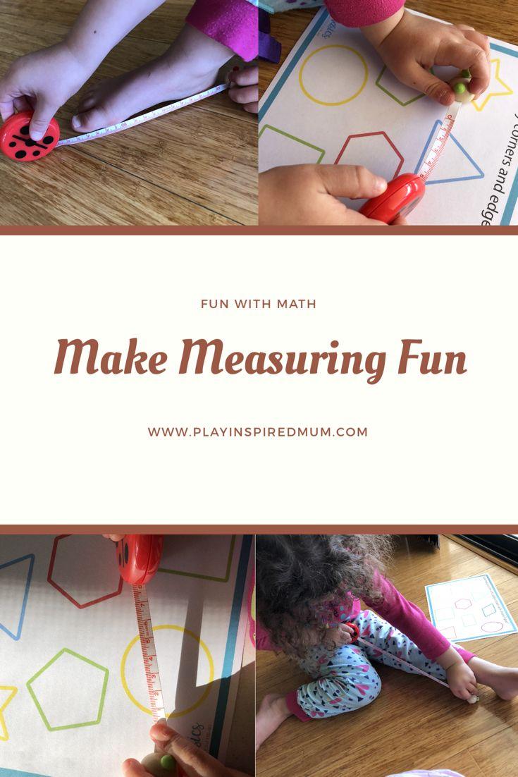 Photo of Exploring Measurements – Play Inspired Mum