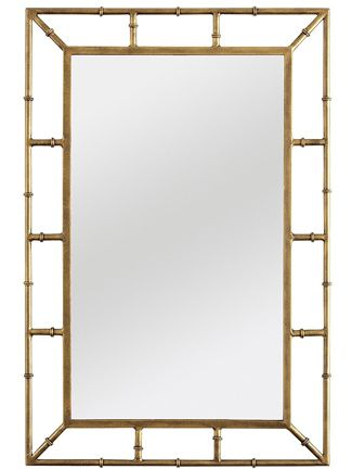 Favorite Finds: 10 Sleek and Chic Mirrors | Frame mirrors, Yellow ...