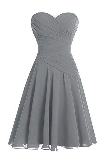 Bess Bridal Women´s Short Sweetheart Ruched Chiffon Bridesmaid Dress Steel Grey Bess Bridal http://www.amazon.com/dp/B017K6UOV6/ref=cm_sw_r_pi_dp_5ZfNwb1P2RP57