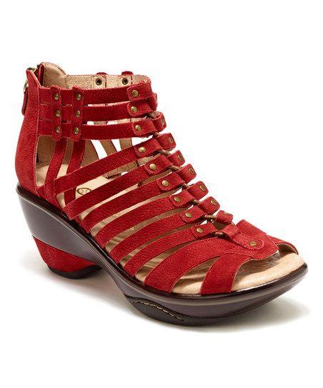 Wide-Width Suede Sandal | Jambu shoes