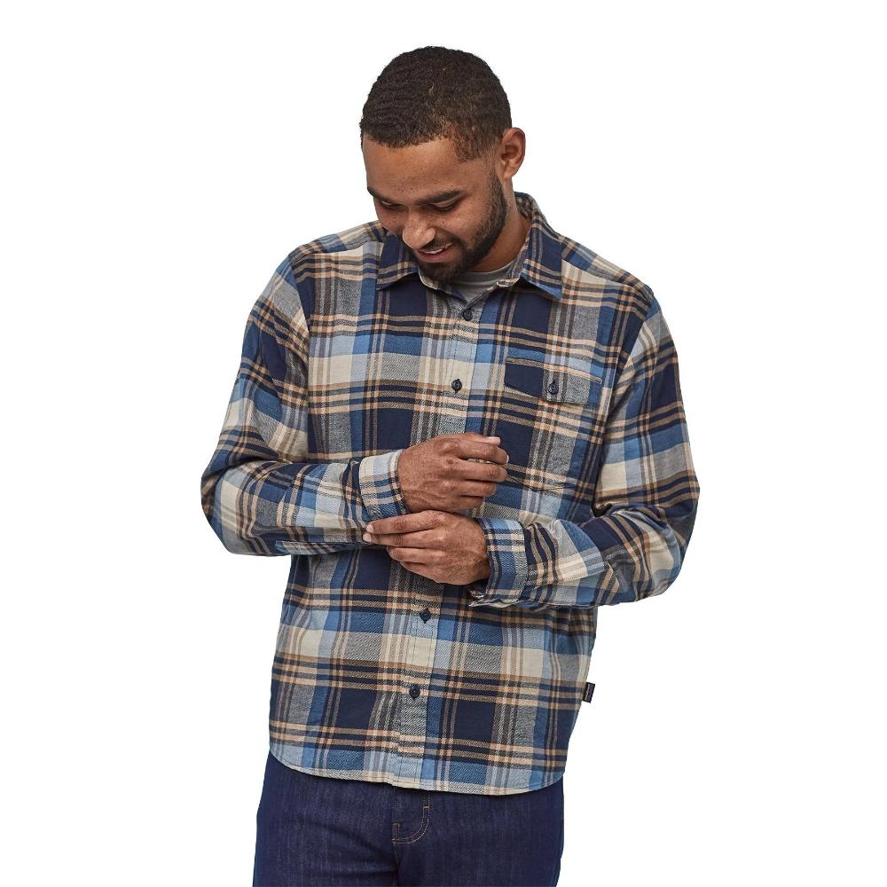 M's Long Sleeved Lightweight Fjord Flannel Shirt 100