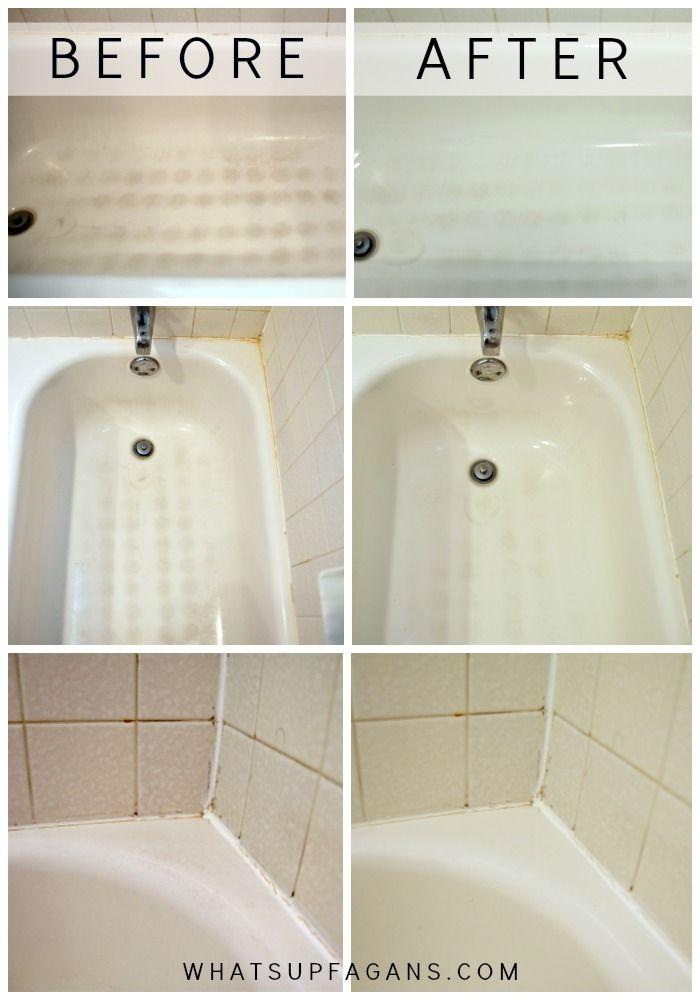 Bathroom Deep Cleaning Checklist: My Dirty Little Secret For A Sparkling Clean Bathtub