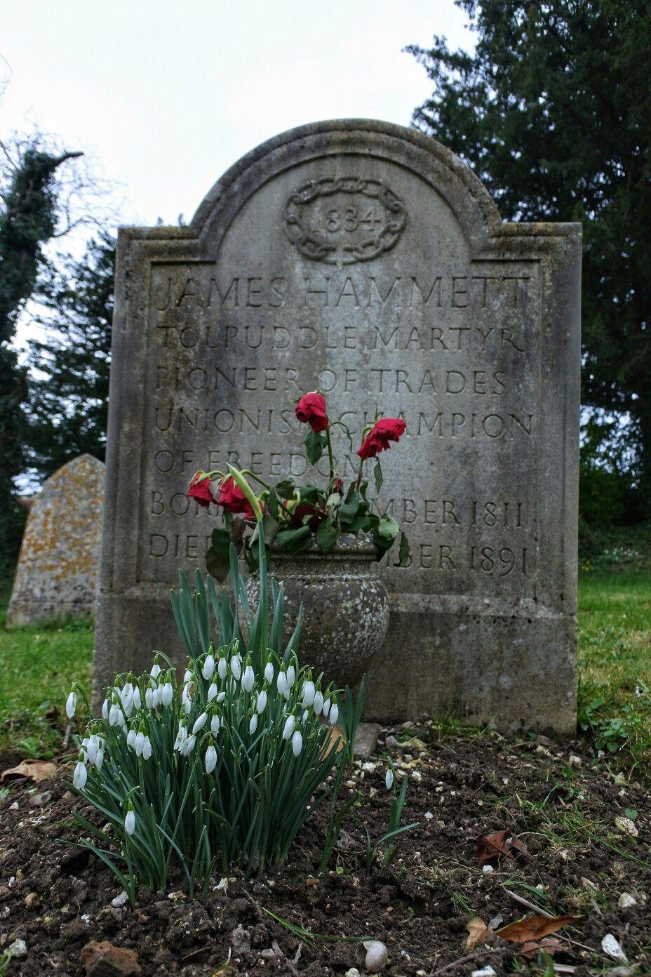 James hammett grave tolpuddle historic england village