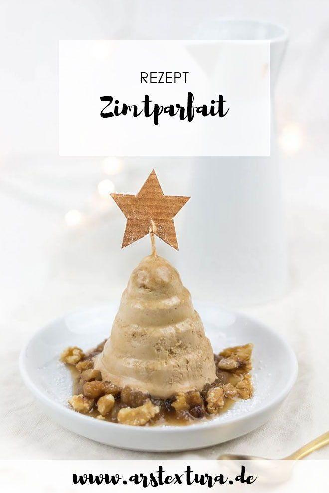 *23* Zimtparfait mit Bratapfelkompott | ars textura – DIY-Blog